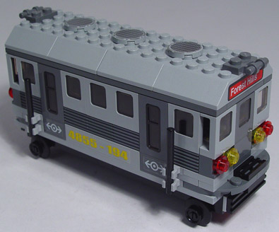 lego spiderman train