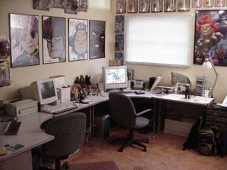 Steve Hamaker's desk