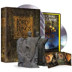 Lord Of The Rings The Fellowship Of The Ring Collector S Dvd Gift
