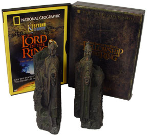 Lord Rings Dvd Argonath Bookends
