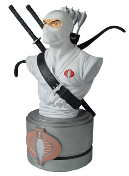 gi joe Storm Shadow mini bust