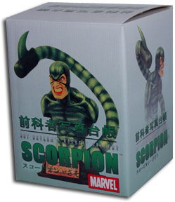 Rogue's Gallery Scorpion Bust