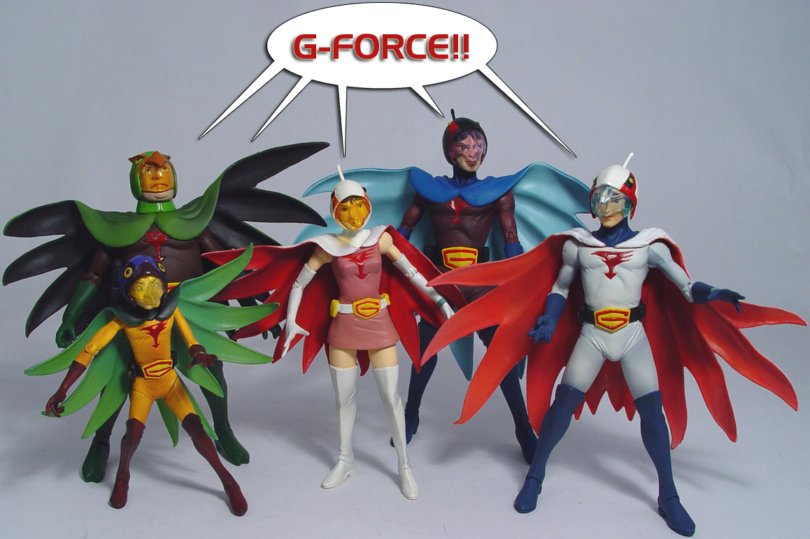 Battle of the Planets action figure