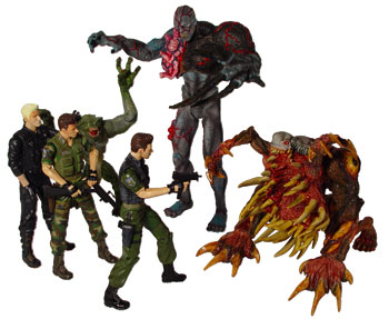 Resident Evil action figure