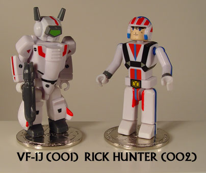 Robotech I-Men action figure