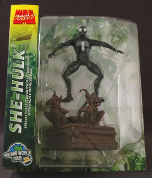 Marvel Select Symbiote Spider-Man action figure