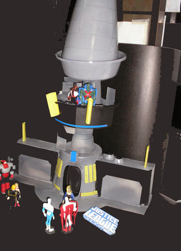 Justice League Unlimited Watchtower Playsets Customcon
