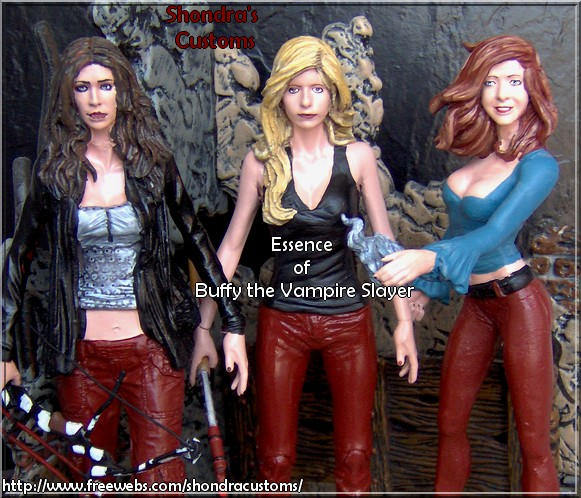 Shondra Aka Shondrasu Introduces A New Line Called Essence Of Buffy Vampire Slayer Custom Figures This Celebrates Some The Best Characters