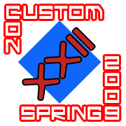 customcon 22 logo