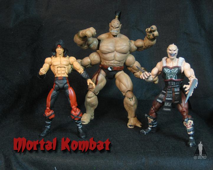 Mortal Kombat Legacy Customcon 25 Spring 2010