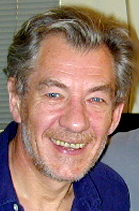 Sir Ian McKellan - photo is by Keith Stern and is courtesy of McKellan.com - used with permission