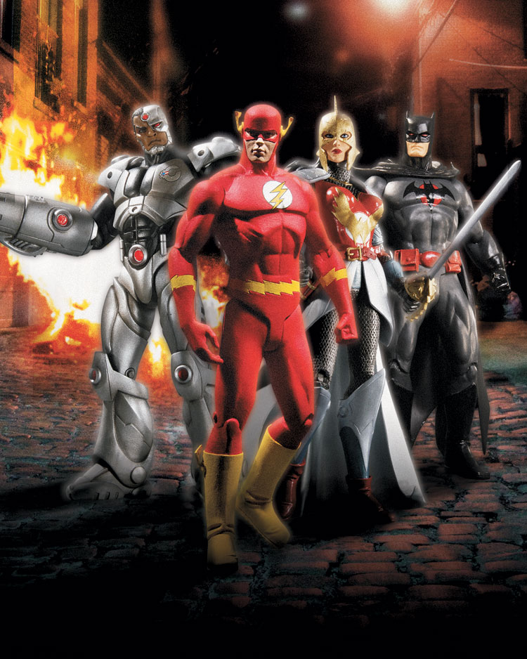 FLASHPOINT SERIES 1 ACTION FIGURES