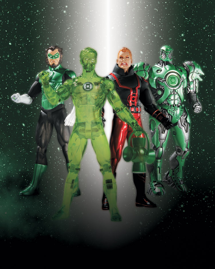 GREEN LANTERN SERIES 4 ACTION FIGURES