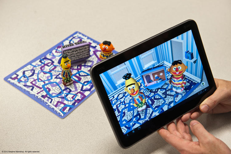 Sesame Street Augmented Reality Playset