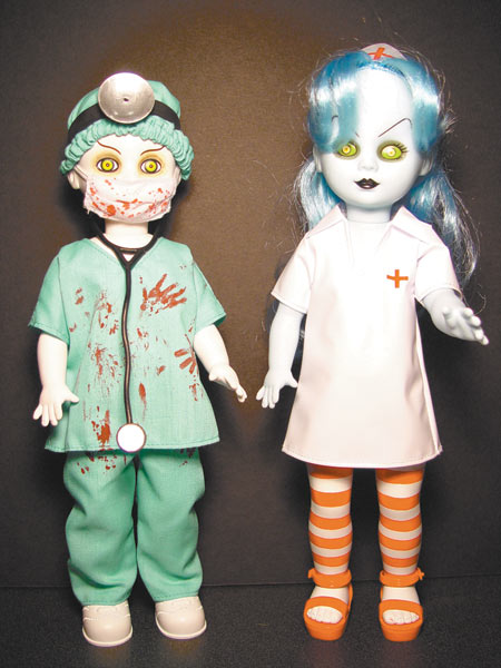 Living Dead Dolls Doctor & Nurse
