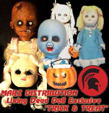 trick and treat living dead dolls