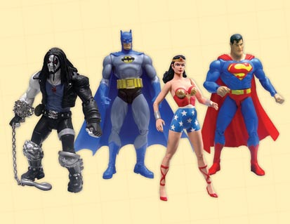 DC DIRECT REACTIVATED! ACTION FIGURES