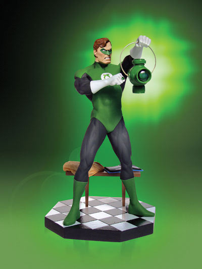 GREEN LANTERN: HAL JORDAN STATUE