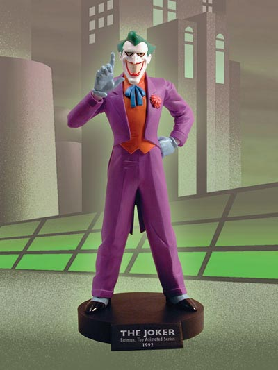 DC COMICS CLASSIC ANIMATION MAQUETTE SERIES: BATMAN THE ANIMATED SERIES: THE JOKER