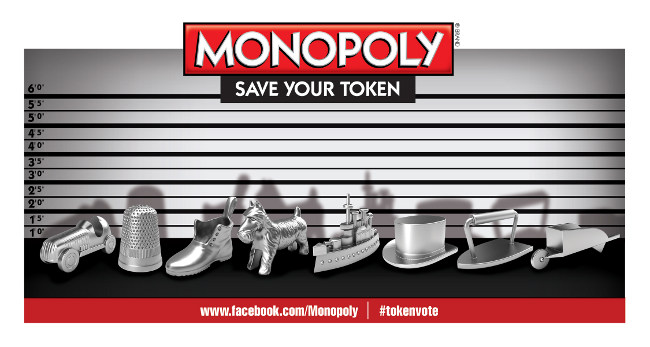 Monopoly Tokens