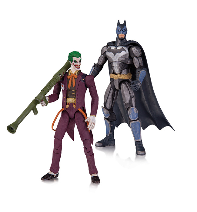 Toys For Injustice : Injustice gods among us raving toy maniac