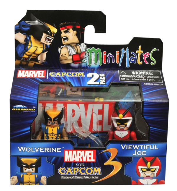 Marvel vs. Capcom 3 Minimates Wave 2