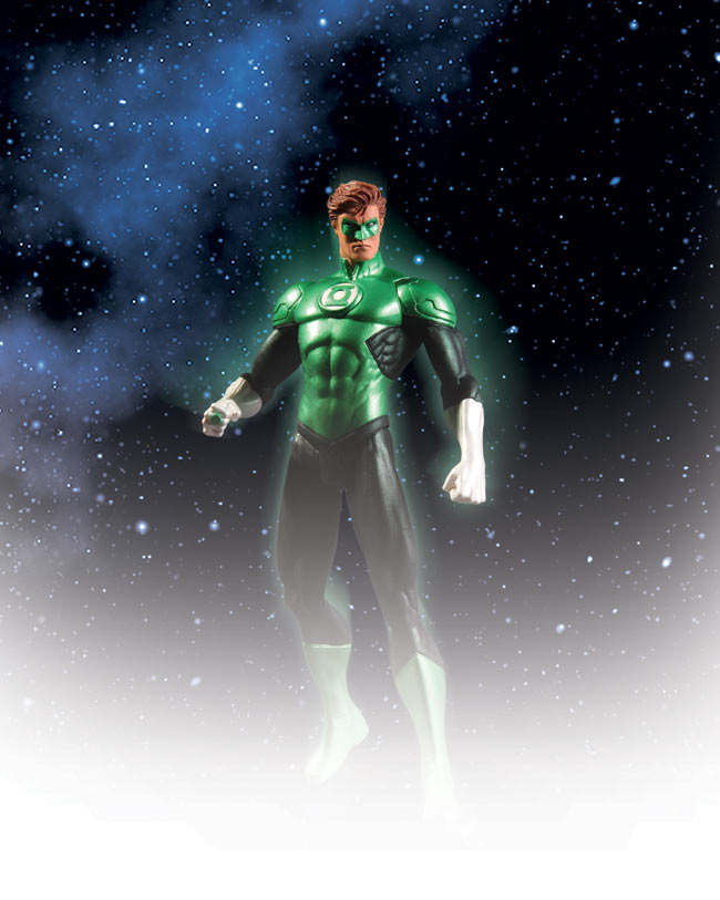 GREEN LANTERN AND AQUAMAN ACTION FIGURES
