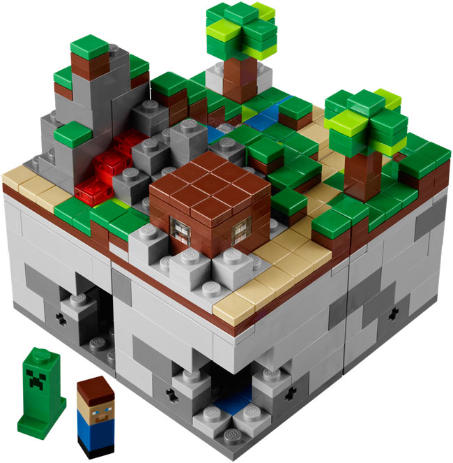 LEGO Minecraft Micro World Set