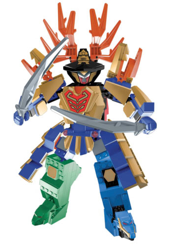 Mega Bloks Power Rangers Super Samurai