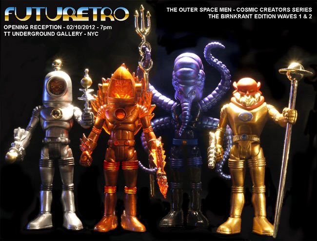 Futuretro Exclusive Outer Space Men Print