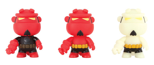 Hellboy Mini-Qee Vinyl Toys