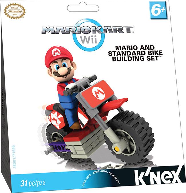 mario kart toys from k'nex
