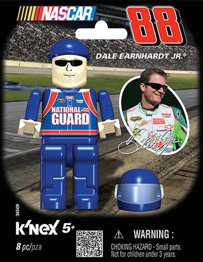 k'nex nascar driver figure bags