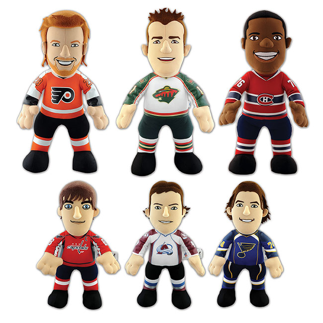 Bleacher Creatures NHL Player Plush