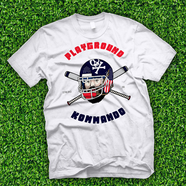 Playground Kommando T-Shirt Release