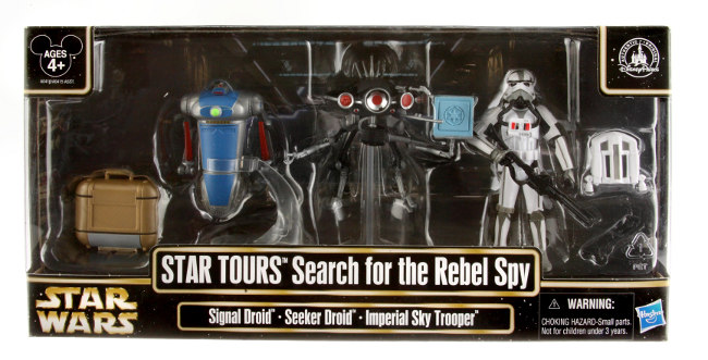 2013 Star Wars Star Tours Action Figure Packs