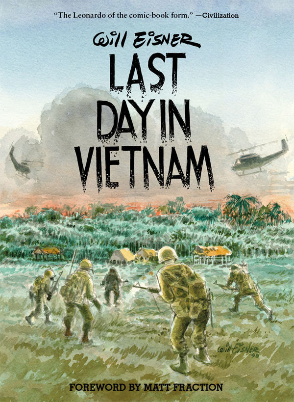 Dark Horse Celebrates WILL EISNER WEEK With New Edition of LAST DAY IN VIETNAM!