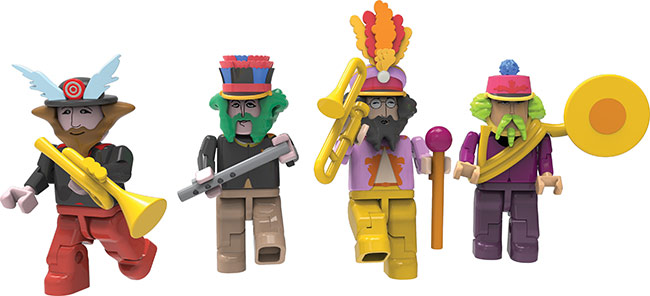 K'NEX Adds More Beatles Yellow Submarine Sets