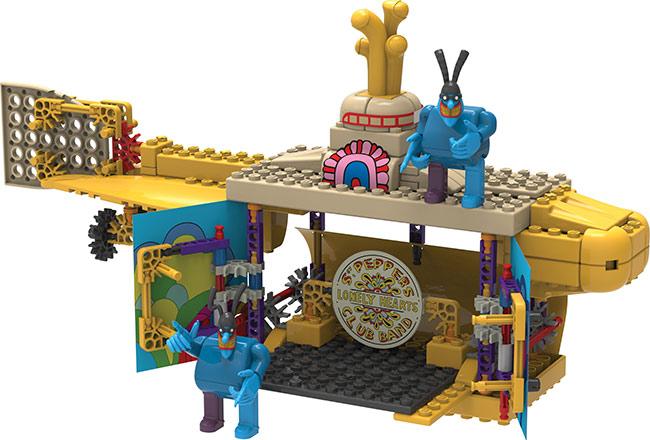 K'NEX Adds More Beatles Yellow Submarine Sets