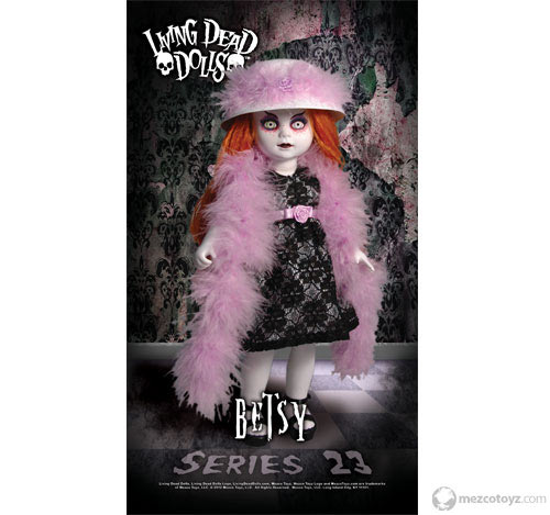 Mezco Releases Limited Edition Living Dead Doll Banners