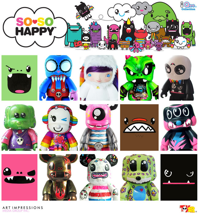 So So Happy x Toy2R Custom Qee Project