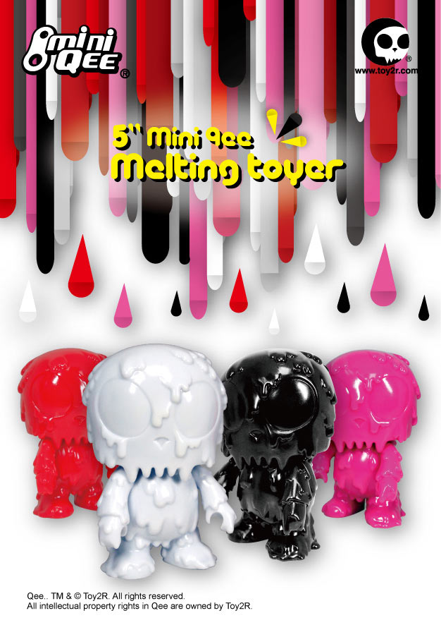 Toy2R's New 5 Inch Mini Qee Spike Toyer and Melting Toyer Collection
