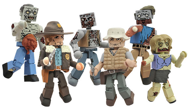 The Walking Dead Minimates