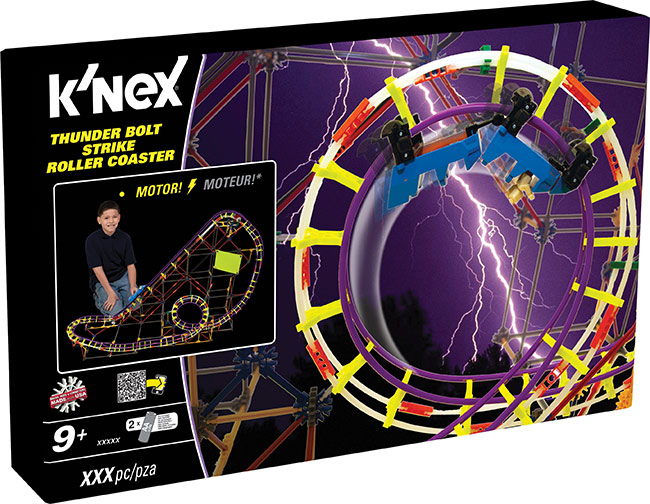 thrill ride roller coaster Sets from k'nex