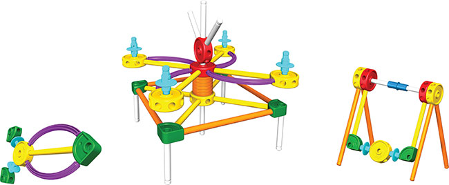 Tinkertoy Sets from k'nex