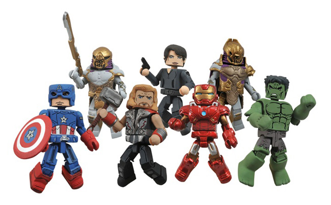 diamond select avengers movie toys