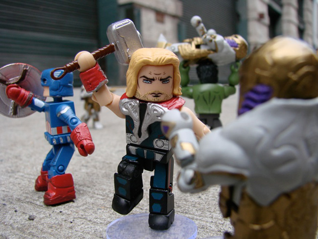 diamond select avengers movie minimates