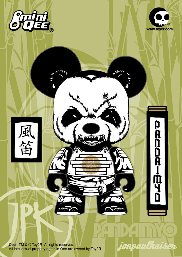 Jon-Paul Kaiser&#039;s PANDAIMYO 5 inch Mini Qee