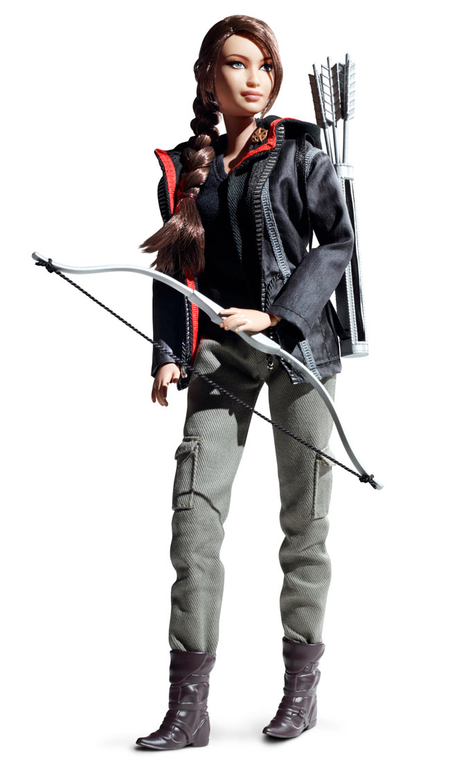 Hunger Games Katniss Barbie Doll