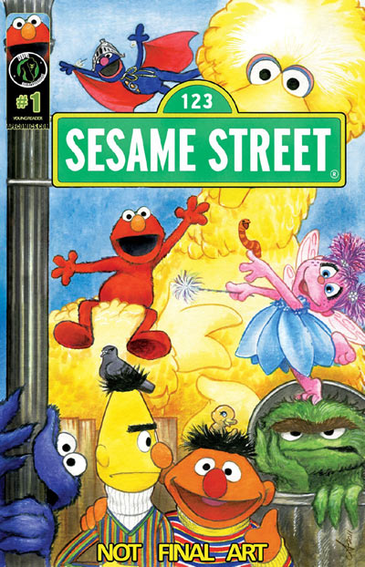 Sesame Street Comic Books
